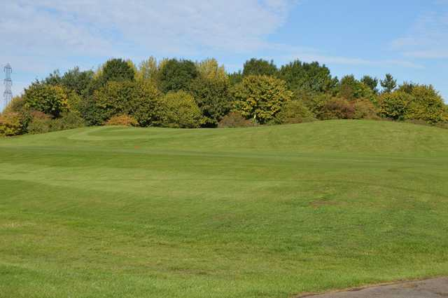 A up-hill shot of the Drayton Park Golf Course