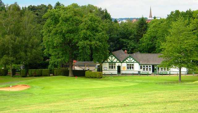 A view from Pitcheroak Golf Course