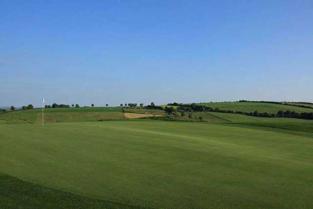 A clear day overlooking the courses exceptional fairways at Dunmurry Springs Golf Club