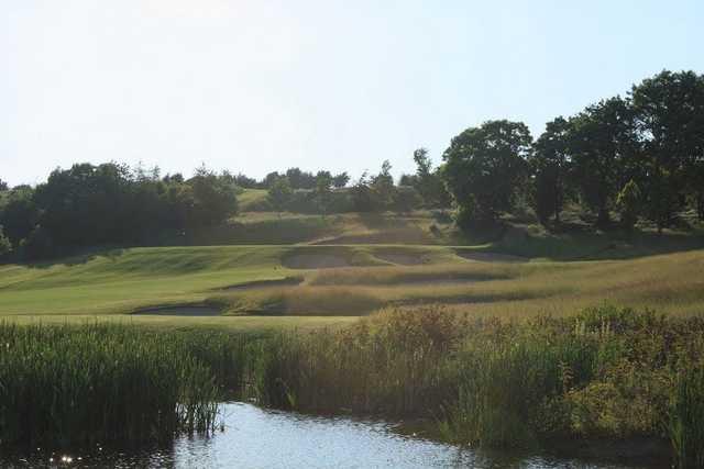 Undulating fairways at Dunmurry Springs Golf Club