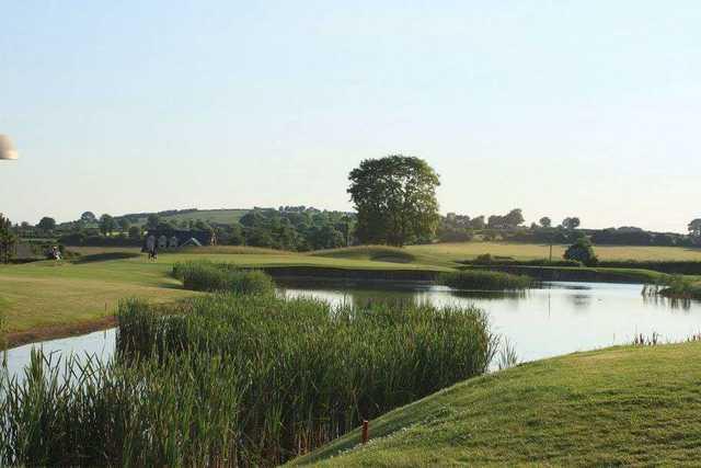 Spring water lake at Dunmurry Springs Golf Course