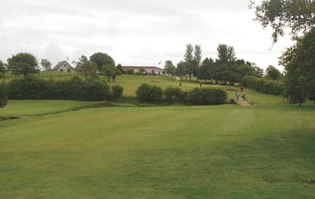 A landscape view of Ardeer Golf Course