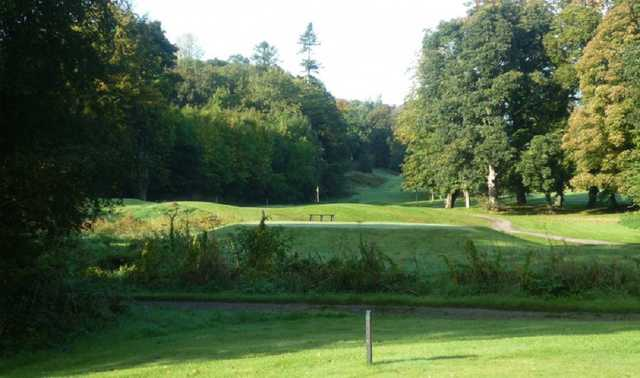 A beautiful shot of the Loughgall golf course