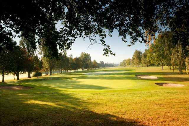 10th green, Welwyn Garden City Golf Course
