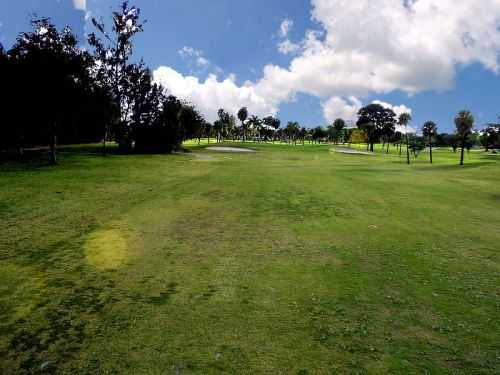 A view of the 17th fairway at Deerfield Country Club