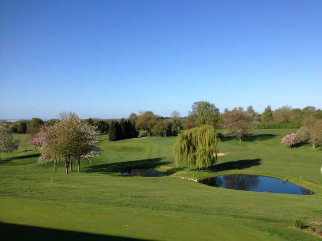 View from the balcony at Welwyn Garden City Golf Club