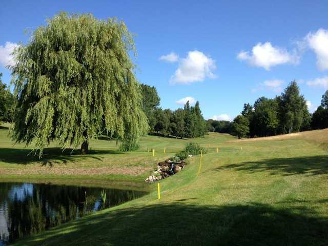 The weir at Welwyn Garden City Golf Club