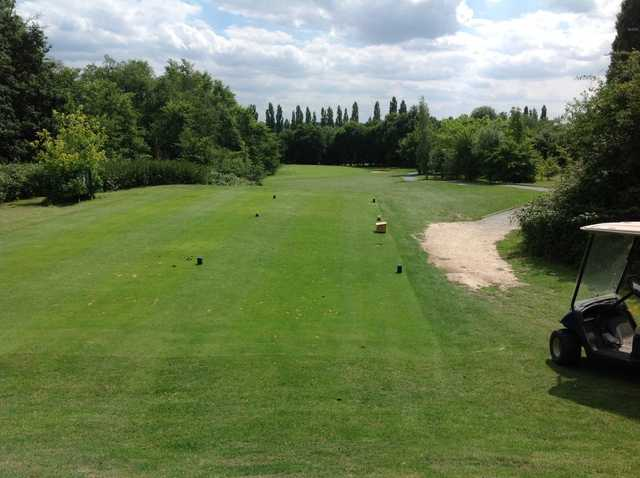 View from the 9th tee at Abridge Golf & Country Club