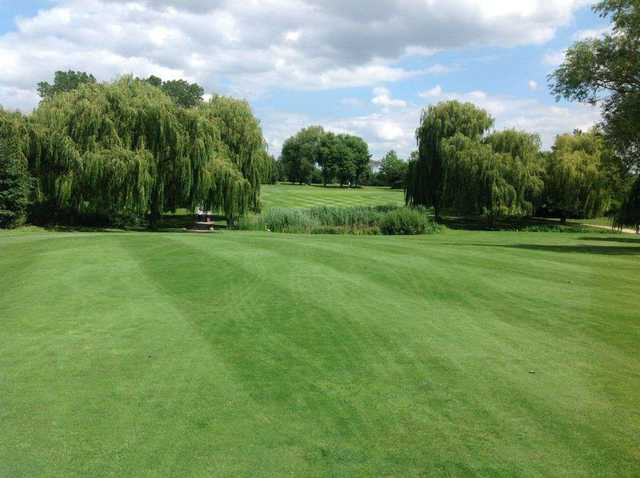 View from the 14th fairway at Abridge Golf & Country Club