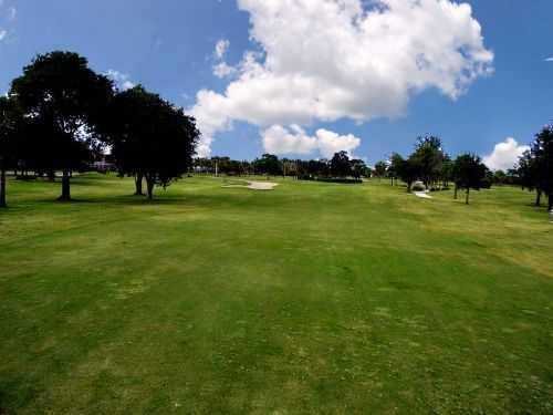 A view of fairway #10 at Deerfield Country Club