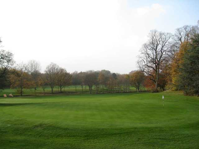 18th green, Chorlton cum Hardy Golf Club