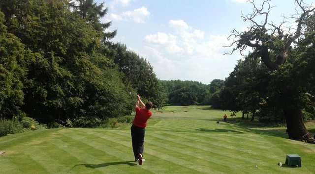 Teeing off at Stoneleigh Deer Park Golf Club
