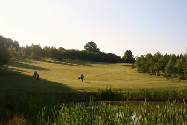 The 3rd hole at Epping