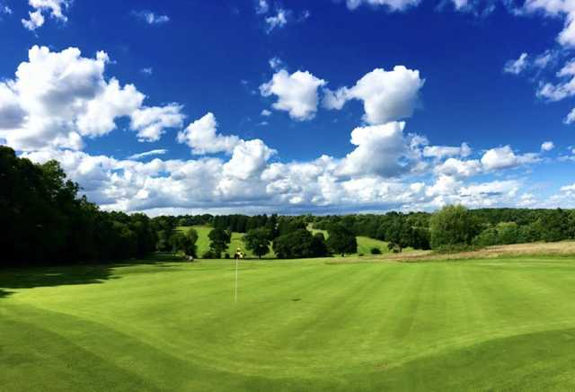 View from Trent Park Golf Club