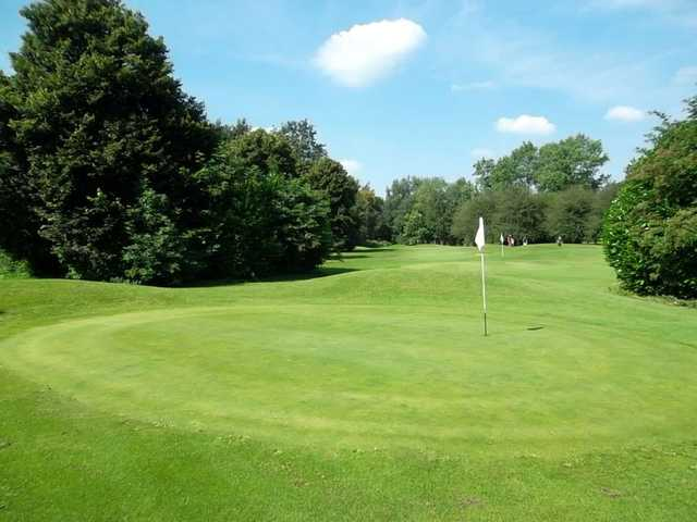 The pitch and putt at Panshanger Golf Club