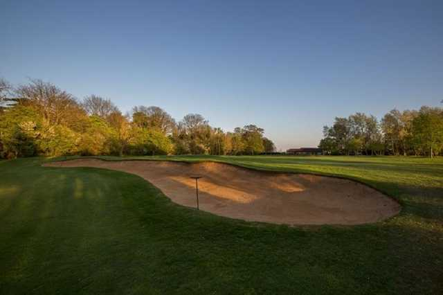 A view of a hole at Peterborough Milton Golf Club