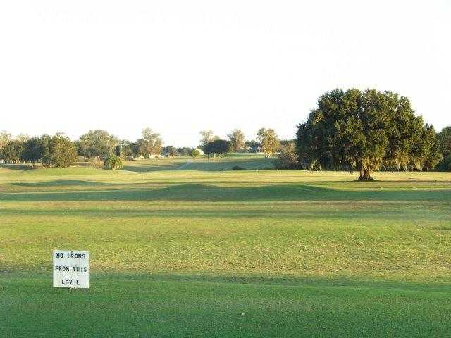 A view of the driving range at Diamond Hill Golf & Country Club