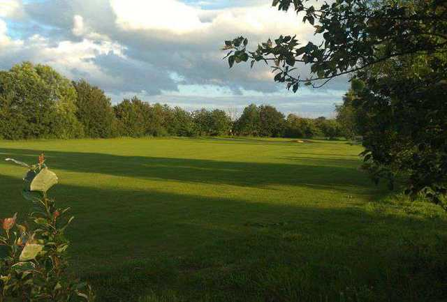 View of the 9-hole Suffolk Course at Stonham Barns Golf Centre