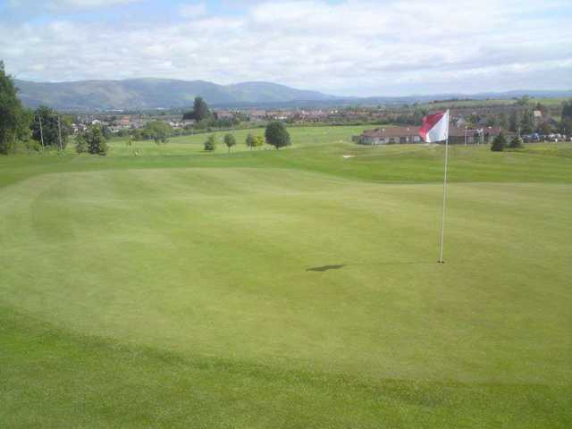 View from a green at Brucefields Family GC