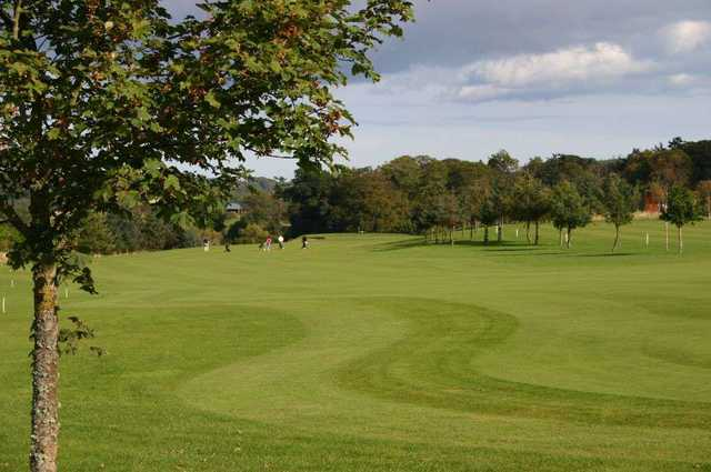 A fairway shot at the Peterculter Golf Club