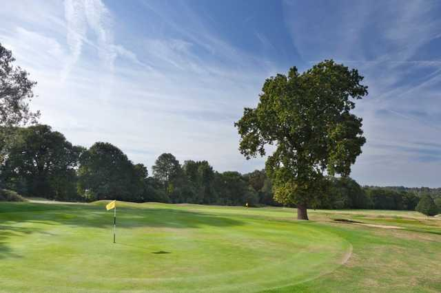 A look over the 3rd green at Richmond Park Golf Club.