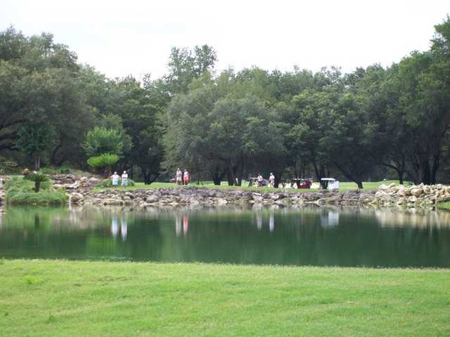 A view from The Spruce Creek Preserve Golf Club