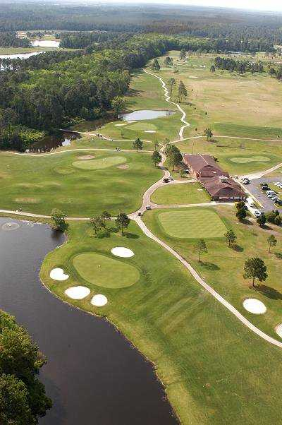 Aerial view from St. Johns Golf Club