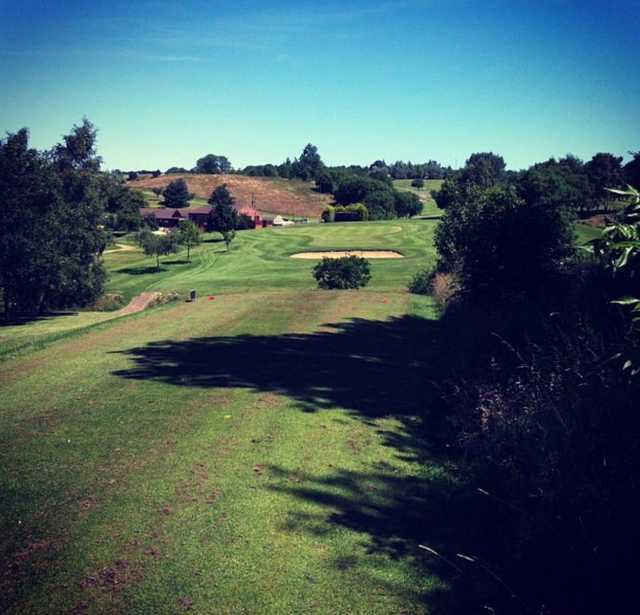 A view from a tee at Cold Ashby Golf Club