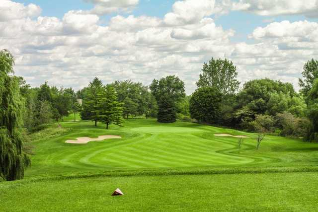 A view from a tee at Elmira Golf Club
