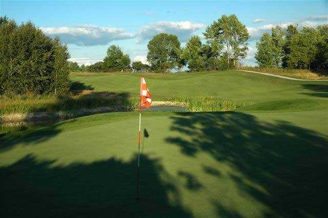A view of hole #15 at The Quarry Golf Club