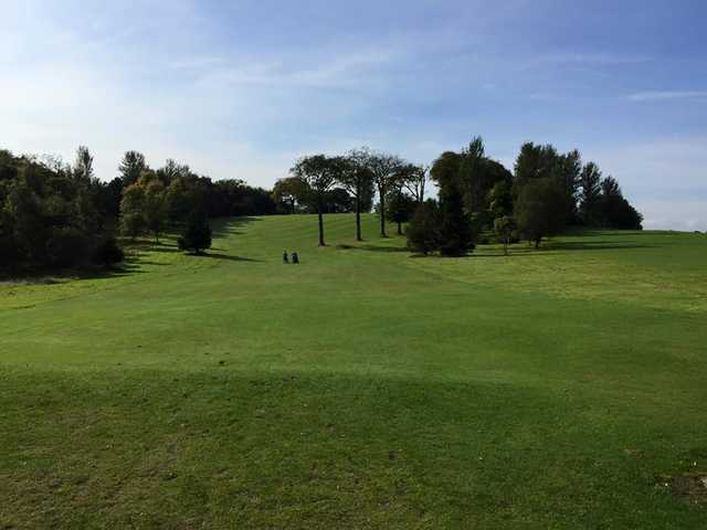 View from Lethamhill Golf Course