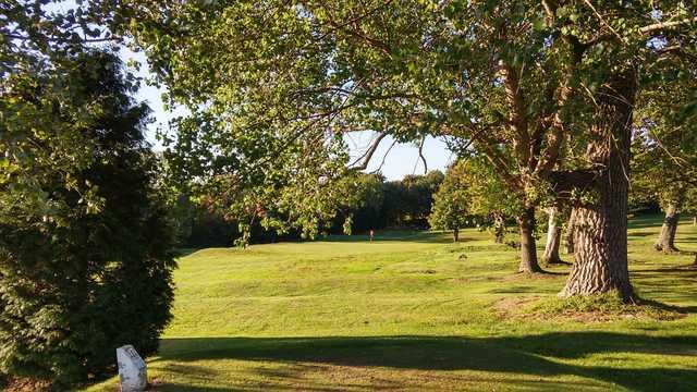 View of the 3rd green at Birtley (Portobello) Golf Club