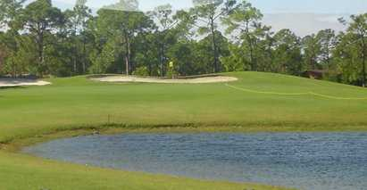 A view of a green at Del Tura Golf & Country Club