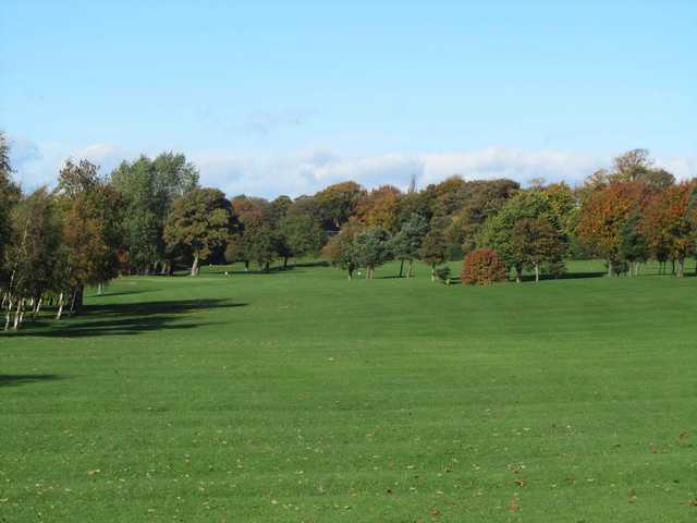 View from a fairway at Birtley (Portobello) Golf Club