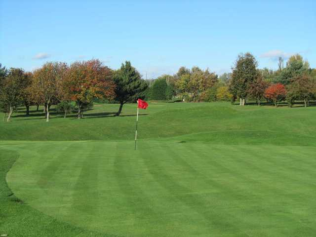 View from a green at Birtley (Portobello) Golf Club