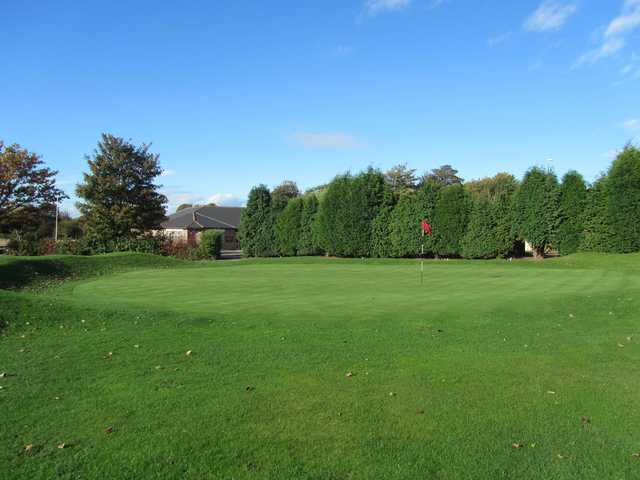 View of a green at Birtley (Portobello) Golf Club