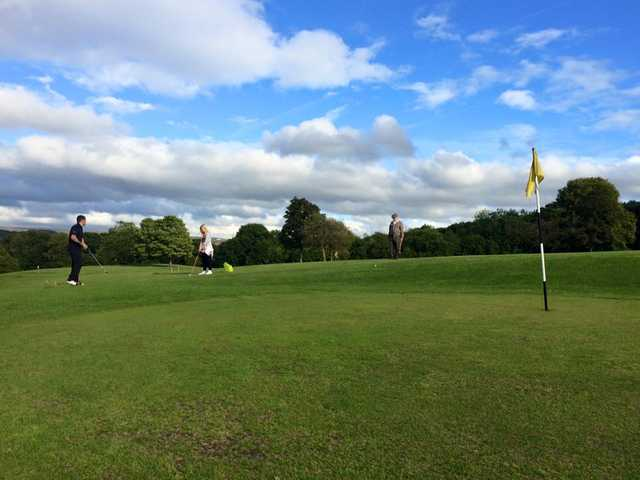 A view of a hole at Towneley Park Pitch & Putt (Anthony Captain Dawson)