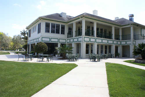 A view of the clubhouse at Magnolia Point Golf & Country Club