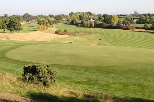 View of a green at Dunmurry Springs Golf Club