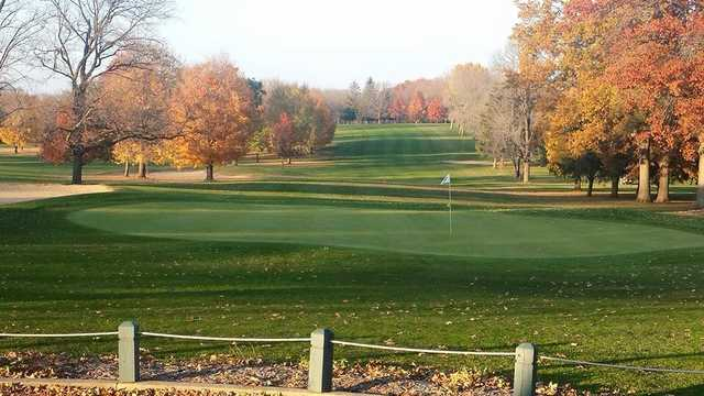 View of the 9th hole at Sandy Hollow Golf Course