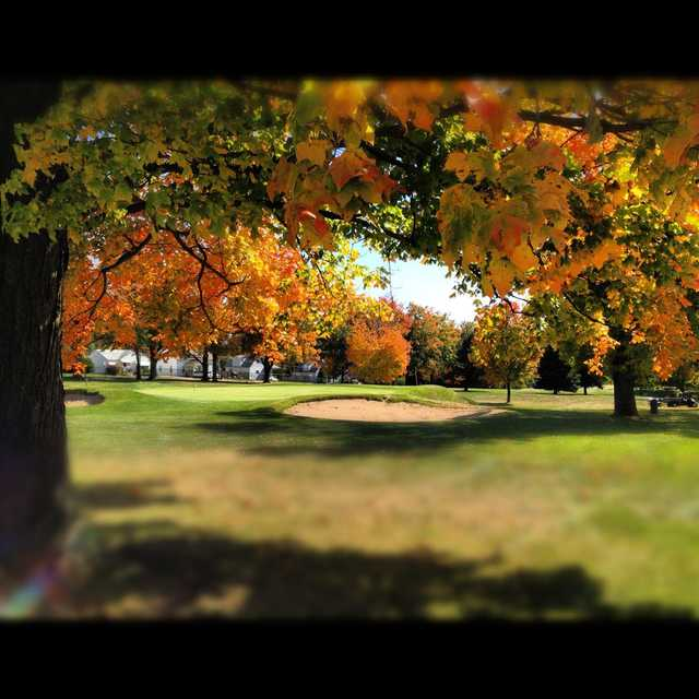 Fall view from Ingersoll Golf Course