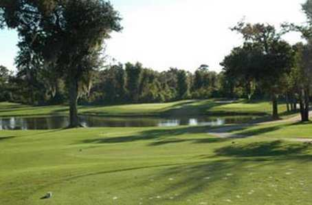 A view of green #7 at South Course from Grenelefe Golf & Tennis Resort