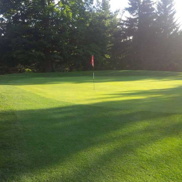 A view of a green at Ingersoll Golf and Country Club