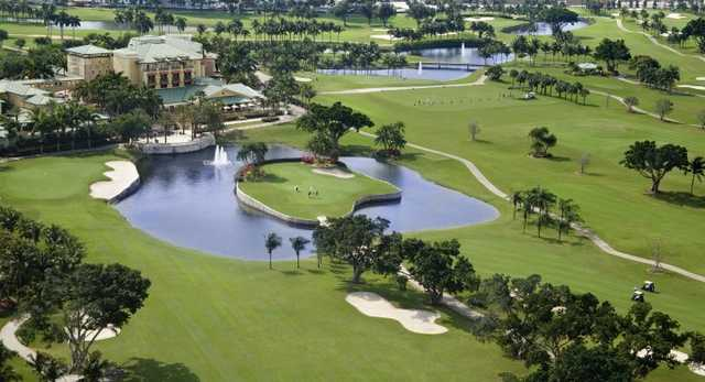Aerial view from Country Club