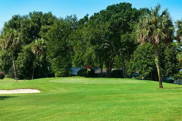 A view of hole #12 at Inverness Golf & Country Club