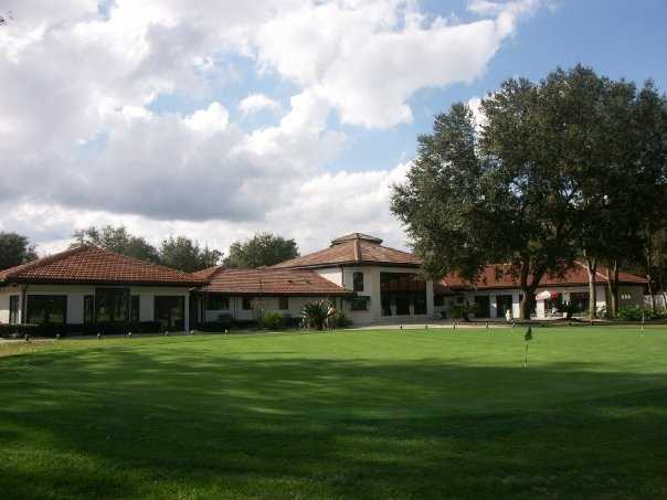 A view of the clubhouse at Julington Creek Golf Club