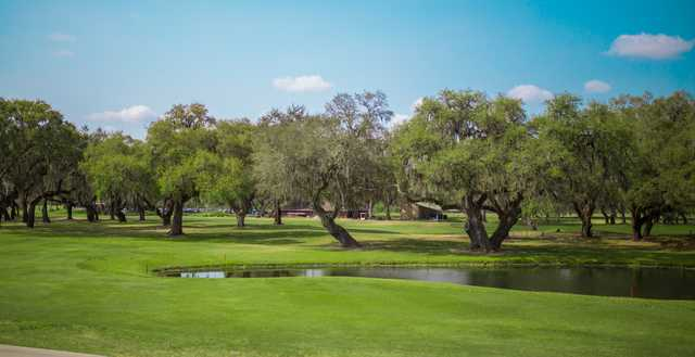 View of the 1st green at Silverado Golf & Country Club