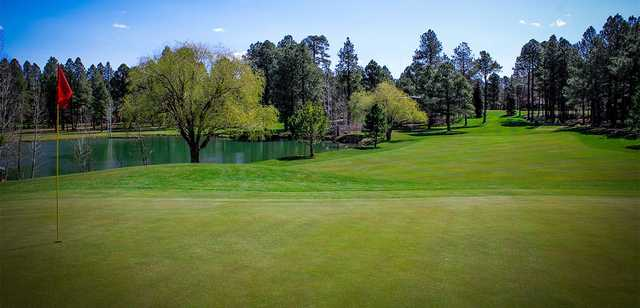 8th green at Pinetop Lakes Golf & Country Club
