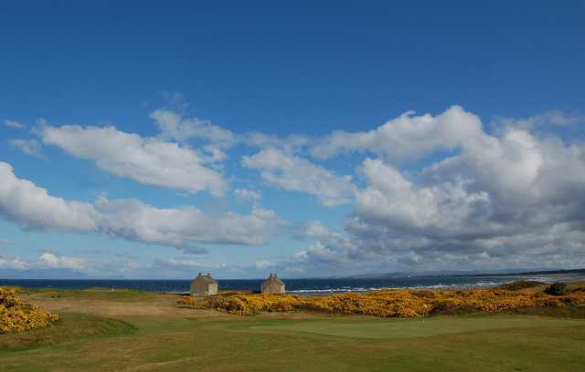 A view from Prestwick St Nicholas Golf Club