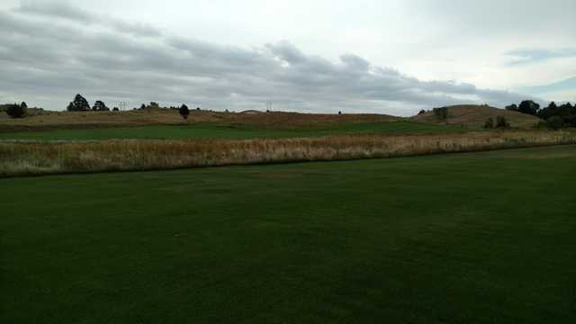 #7 Fairway looking southeast across native grass and #6 Fairway